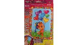 Мозаїка з кристалів  CRYSTAL ART KIDS  05 Ведмедик з кульками ДТ (1/20)