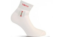 Шкарпетки чоловічі р.25 DUNA 293  білі бабовна 80% поліамід 18% еластан 2%