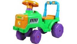 Каталка  Бебі-трактор  ORION зелена з клаксоном 610x310x450 мм