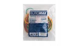 Гумка для банкнот BUROMAX 5515  50г асорті (1/400)