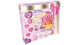 Набір для створення відбитка з легк. стриб. пластиліну ТМ Moon Light Clay Cr  для дівчинки