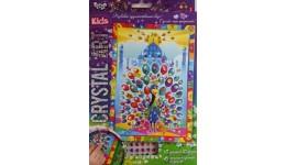 Мозаїка з кристалів  CRYSTAL ART KIDS  06 Павич ДТ (1/20)