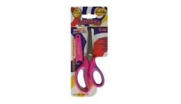 Ножиці дитячі CLASS 4283-12С 13 3см у футлярі (рожеві) прогумовані ручки (1/30)