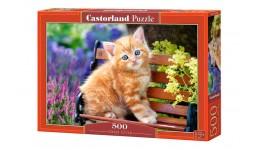 Пазл Касторленд  500 (2240) Котик  47*33 см