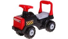 Каталка  Бебі-трактор  ORION червона з клаксоном 610x310x450 мм