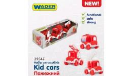 Набір авто  Kid cars  пожежний