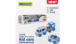 Набір авто  Kid cars  поліцейський