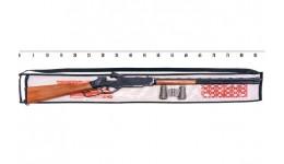 Вінчестер: іграшкова гвинтівка з пістонами та оптика  бінокль. 85см