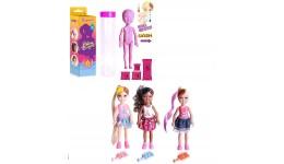 Портфель шкільний каркасний CLASS 9813 на 2відділ. 34*27*14см (1)