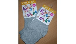 Шкарпетки дитячі KSL  MELANGE calzino- deep grey melange 20 - 74%бавовна 24%поліамід 2%еласта