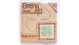 string art  Квітка (20*20 см) зроби картинку з ниток