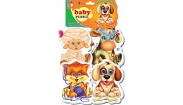 Бебі пазли 1106-81 Домашні улюбленці (Vladi Toys)