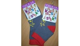 Шкарпетки дитячі 14-16 KSL-003 calzino-fumo - 64% бавовна  32% поліамід  4% еластан