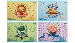 Альбом  KITE А4 12 арк SP20-241 для малювання скоба  Studio Pets  (20/200)