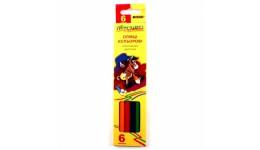 Олівці кольорові  MARCO  6 кол 1010 - 6СВ  Пегашка  шестигранні (1/24/480)