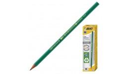 Олівці BIC 8803112 чорнографітові  650HB пластиковий  зелений (12/72)