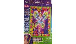 Мозаїка з кристалів  CRYSTAL ART KIDS  03 Чарівниця ДТ (1/20)