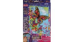 Мозаїка з кристалів  CRYSTAL ART KIDS  02 Метелики ДТ (1/20)