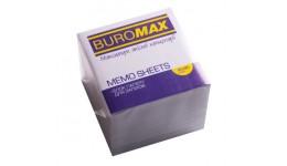 Блок паперу BUROMAX 2218 д/нотаток білий не склеєний 90*90*70мм (1/30)