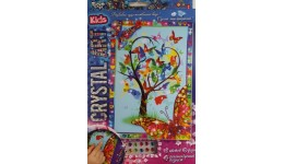 Мозаїка з кристалів  CRYSTAL ART KIDS  01 Квітуче дерево ДТ (1/20)