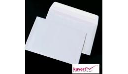 Конверт КУВЕРТ 3444 50 С5 (162*229мм) білий СКЛ термоупак. (50)