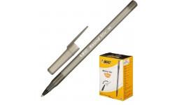 Ручка кулькова BIC 920568 чорна  Round Stic  0 32мм (60)