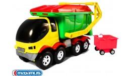 Авто Панда сміттєвоз  MAXiMUS 44x25x22см