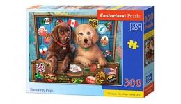 Пазл Касторленд  300 (422) Собаки мандрівники   40*29 см