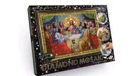 Діамантовий живопис ДМ-01-01 Тайна вечеря DIAMOND MOSAIC великий ДТ (1/10)