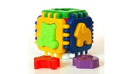 Куб Розумний малюк Логіка (арт.МГ014) 12ел 11 5*11 5 см ТМ Максимус