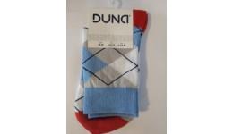 Шкарпетки жіночі р.23 DUNA 324 світло-сірі 70%бавовна  28%поліамід  2 %еластан