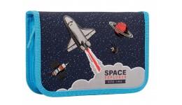 Папка-бокс LEO 490622 А4 на кнопці  Black Edition  (1)