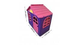 Будиночок з шторками арт. 02550/10  DOLONI-TOYS