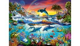 Пазл Касторленд 3000 (396) Райска бухта  92*68 см
