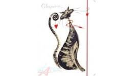 Папка на гумках А4 LEO 490736  Glamour cats  (1/20)