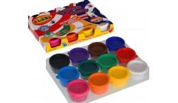 Пальчикові фарби CLASS 7638  12 кол .