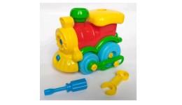 іграшка-конструктор   Потяг   30.003  ТМ Toys Plast