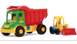 Multi truck  вантажівка з трактором (Wader)