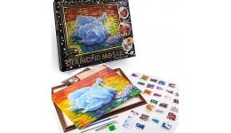Діамантовий живопис ДМ-01-02 Лебеді DIAMOND MOSAIC великий ДТ (1/10)