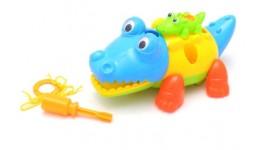 Іграшка Конструктор  Крокодильчики  на ключику 5006B в пакеті  р.18*12*8 5см