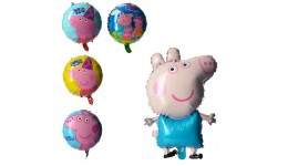 Повітряні кульки фольговані MK 2271  PP  5шт  48-80см  в кульке  22-16 5-1см
