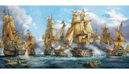 Пазл Касторленд 4000 (102) Битва на морі 138*68см