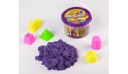 Кінетичний пісок 01-02  KidSand   500г Фіолетовий з пасочками ДТ (1/6)