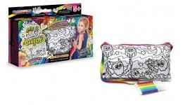 Клатч-пенал-розмальовка ССЛ-02-03  My Color Clutch  Совині радощі ДТ (1/6)