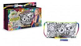 Клатч-пенал-розмальовка ССЛ-02-06  My Color Clutch  Білченята ДТ (1/6)