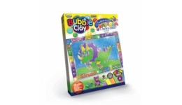 Вітражна картина  Bubble Clay  BBC-02-01 Динозавр+ліпка (1/18) ДТ