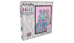 Картина з легкої глини ОКТО 70074 ТМ Moon Light Clay Ведмідь (коробка 30*40 см)