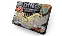Набір д/проведення розкопок 6+DINO PALEONTOLOGY 02 2скелета Стегозавр+Трицераптос (1/5)ДТ