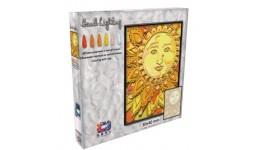Картина з легкої глини ОКТО 70075 ТМ Moon Light Clay Сонце (коробка 30*40см)