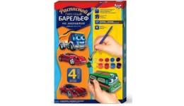 Барельєф малий:РГБ-02-01 на магнітах 4 фігурки Транспорт1 (автобус)Д/Т (1/12)